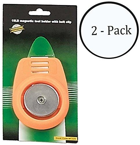 HAWK 10lb Magnetic Belt-clip Tool-holder  Pack of 2 Pcs - MC325