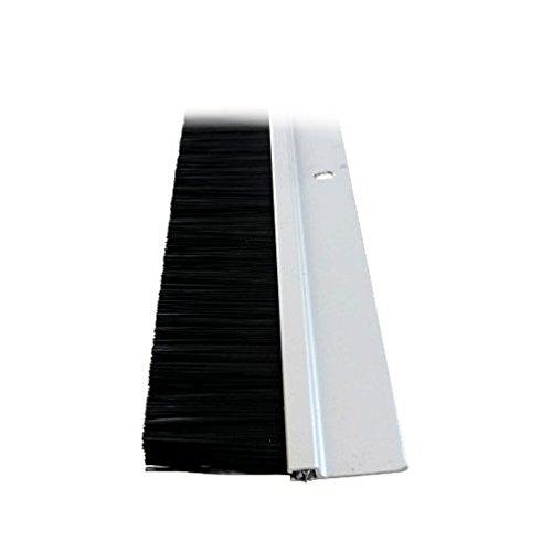 4 Aluminum Long Bristle Door Sweep