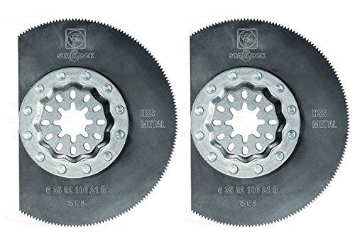 Fein 63502106220 Oscillating High Speed Steel Circular Saw Blade 2 Pack 3-38
