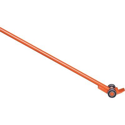 Heavy-Duty Steel Pry Bar Lever - 11000-Lb Capacity 72in Handle