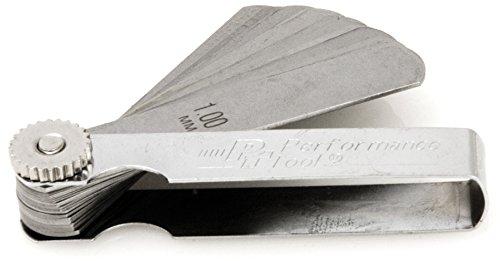 Performance Tool W80527 25 Blade Metric Feeler Gauge