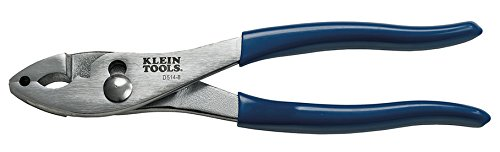 Klein Tools D514-8 Slip Joint Pliers Hose Clamp 8-Inch