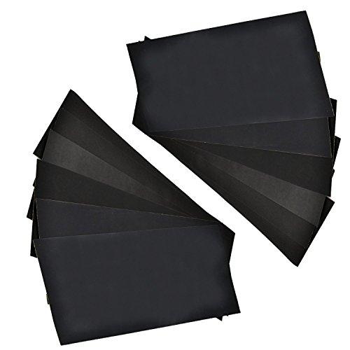 1500 Grit Abrasive Dry Wet Waterproof Sandpaper Abrasive Sheets Polishing Sand Paper 10pcs 9 x 11