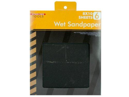 Bulk Buys MR081-75 Wet Sandpaper Pack
