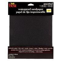 Do it Best Waterproof Silicon Carbide Sandpaper 4PK ASTD WET SANDPAPER