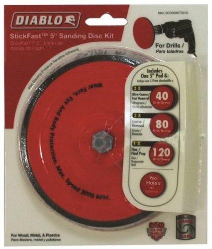 Diablo DCD050KITD01G Disc Sanding Stick Fast 5 Kit