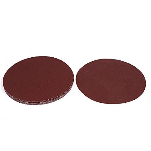 uxcell 8inch Dia Abrasive Sanding Sandpaper Sheet Disc 120 Grit 10 Pc