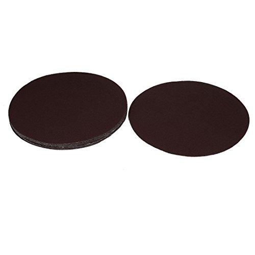 uxcell 8inch Dia Abrasive Sanding Sandpaper Sheet Disc 80 Grit 10 Pcs