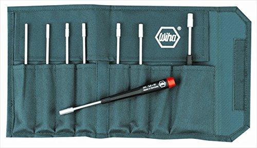 Wiha Tools 26598 Precision Metric Nut Driver Set - 8 Piece