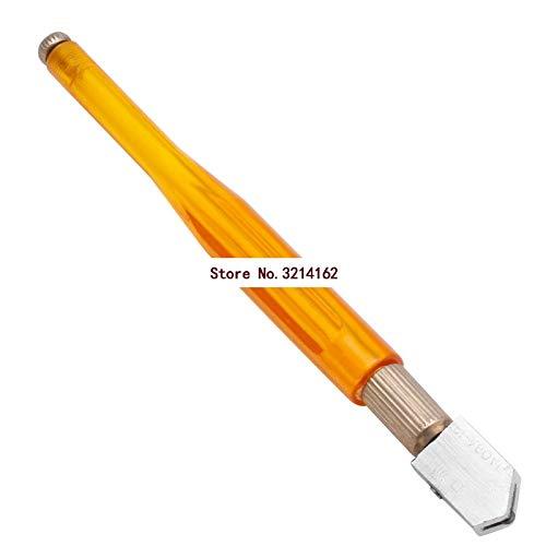 CHUN-Accessory - Glass Cutting Tool Diamond Glass Cutter Antislip Metal Handle Steel Blade Oil Filled Bottle Glass Cutter 07NOV