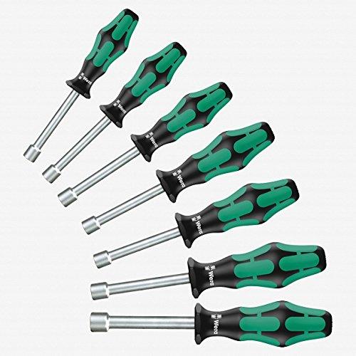Wera 345230 Kraftform Plus Hollow Shaft Nutdriver Set