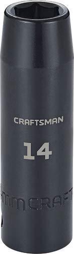 CRAFTSMAN Deep Impact Socket Metric 12-Inch Drive 14mm CMMT16075