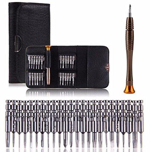 25 in 1 Precision Screwdriver Set Magnetic Screw Driver Repair Tool Kit Socket Setfor PhoneLaptop
