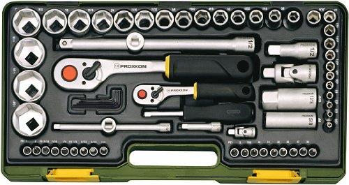 Proxxon 23294 Socket Spanner Set 65 Pieces by Proxxon