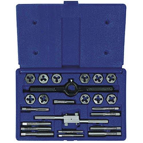 Irwin Industrial Tools 24614 Fractional Tap and Hex Die Set 24-Piece