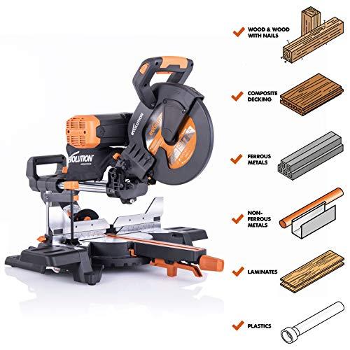 R255 Sliding Compound Miter Saws Premium 10 Dual Bevel Sliding Miter Saw - R255SMSDB