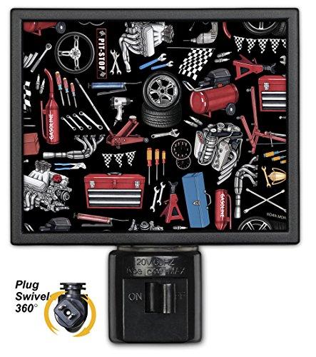 Art Plates NL-1007 Auto Mechanic Tools Night Light