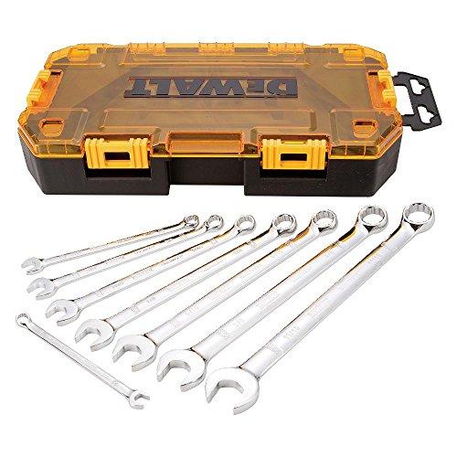 DEWALT DWMT73809  Tool Kit SAE Combination Wrench Set 8 Piece