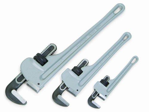 Williams 13542 3-Piece Aluminum Pipe Wrench Set