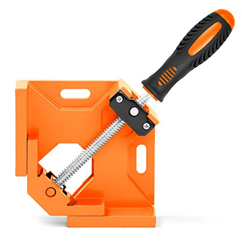 HORUSDY 90° Right Angle ClampsCorner Clamp tools for Carpenter Welding Wood-working Engineering Photo Framing - Best Unique Tool Gift for Men Angle Clamps