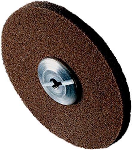 Scotch-Brite 13781 EXL Unitized Wheel 6 x 12 x 12 8A CRS 6 Diameter Abrasive Grit 7500 Rpm Pack of 4