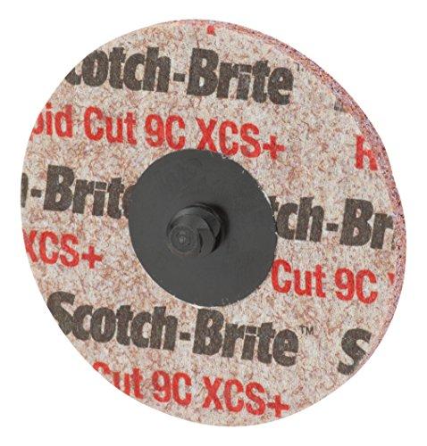 Scotch-Brite Roloc Rapid Cut Unitized Wheel TS 2 in x NH 9C CRS 15 per inner