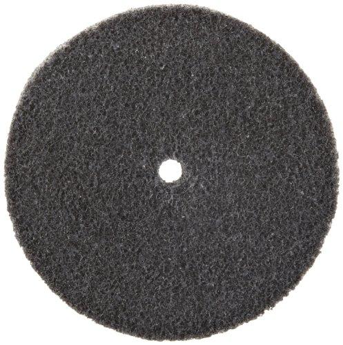 Scotch-BriteTM EXL Unitized Wheel Silicon Carbide 10000 rpm 3 Diameter 14 Arbor 2S Fine Grit  Pack of 10