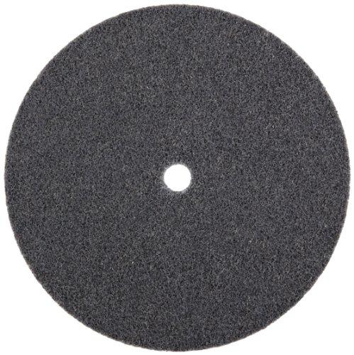 Scotch-BriteTM EXL Unitized Wheel Silicon Carbide 5000 rpm 6 Diameter 12 Arbor 2S Fine Grit  Pack of 4