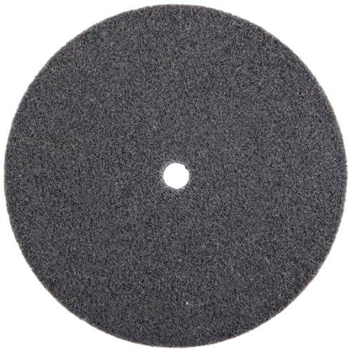 Scotch-BriteTM EXL Unitized Wheel Silicon Carbide 6 Diameter 5000 rpm 12 Arbor Fine Grit  Pack of 2