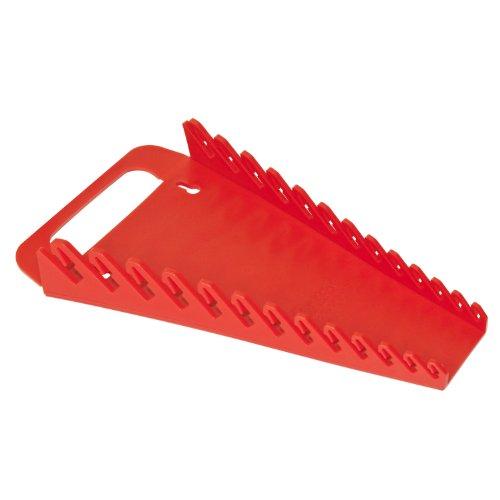 Ernst Manufacturing 5013-Red Gripper 13-Wrench Organizer