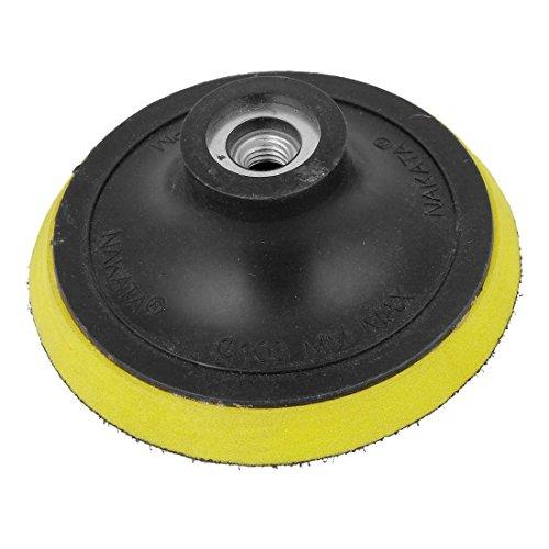 Angle Grinder Sanding wheel - SODIALR Angle Grinder Sanding Polishing Hook and Loop Backing Pad 4 Dia