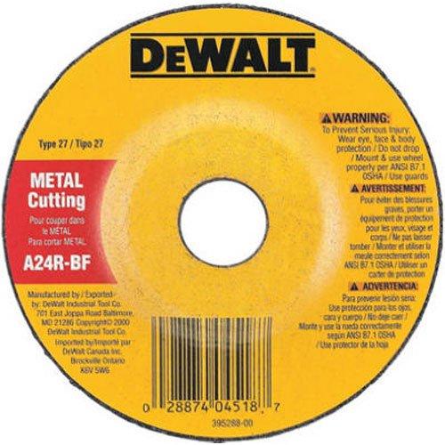 DEWALT DW4518 4-12-Inch by 18-Inch by 78-Inch General Purpose Metal Cutting Wheel