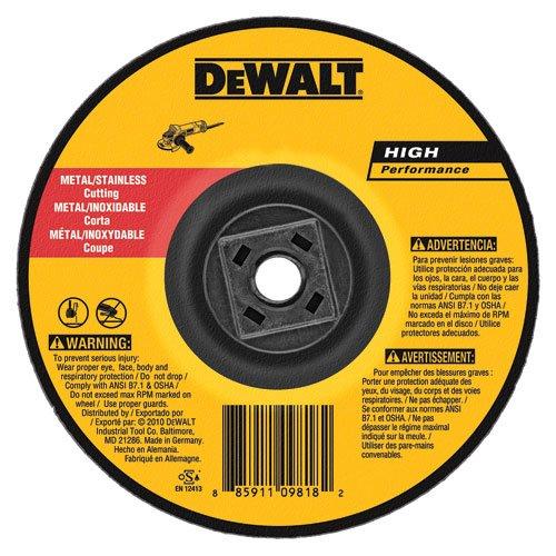 DEWALT DW8426H Metal Cutting Wheel 58-11 Arbor 6-Inch by 0045-Inch