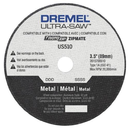 Dremel US510-01 Ultra-Saw 35-Inch Metal Cutting Wheel