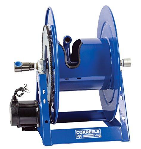 Coxreels 1175-6-100-ED Electric 12V DC Explosion Proof 12HP Motor Rewind Hose Reel 1 ID 100 hose capacity less hose 3000 PSI