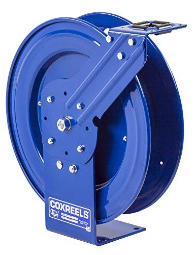 Coxreels P-LPL-350-AL Spring Rewind Hose Reel for airwater 38 ID 50 hose capacity less hose 300 PSI