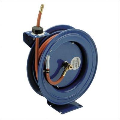Coxreels P-LPL-350 Low Pressure Spring Rewind Hose Reel 38 ID 50 hose capacity less hose 300 PSI