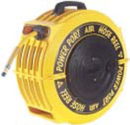 POWER PORT CHR 5012-ORS 5IN 50FT PVC 300PSI AUTO REWIND HOSE REEL HOSE USA