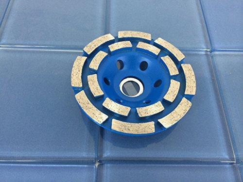 TEMO 4 inch PRO Diamond segment grinding wheel disc 2 ROW 15C7