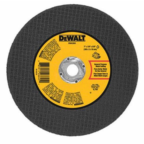 DEWALT DWA3501 Metal Abrasive Blade 7-Inch X 18-Inch