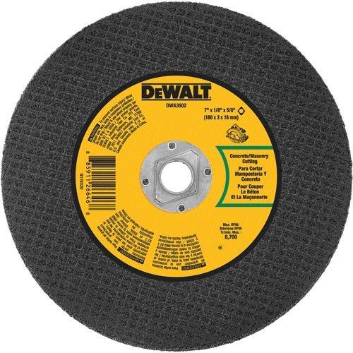 DEWALT DWA3502 Masonry Abrasive Blade 7-Inch X 18-Inch