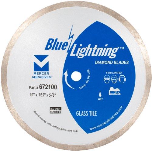 Mercer Abrasives 672100 Diamond Blades for Glass Tile 10-Inch