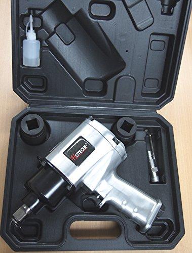 34 Twin Hammer Heavy Duty Air Impact Wrench 1250 LB-FT w2 Sockets