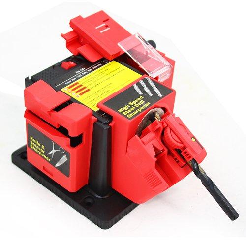 XtremepowerUS All in 1 Multi purpose Power Drill Bit Scissor Knife Plane Chisel Sharpener