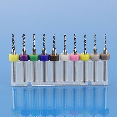 Xuchuan 10Pcs PCB Print Circuit Board Carbide Micro Drill Bits 11mm-20mm