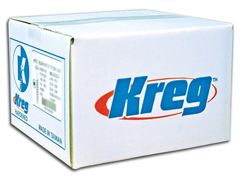 Kreg SML-C250B-2000 Blue-Kote Weather Resistant Pocket Hole Screws - 2 12 8 Coarse Washer Head 2000 count