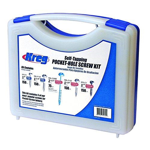 Kreg Pocket-Hole Screw Kit 675pce Sk03