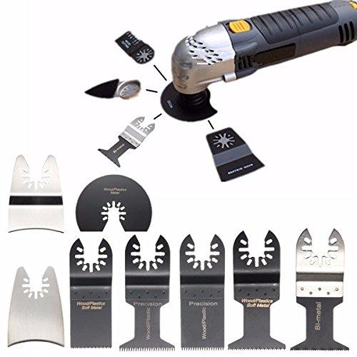 12pcs Saw Blades Oscillating Multi Tool for Bosch Fein Dewalt Porter Multimaster