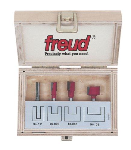 Freud 90-106 Undersized Plywood Router Bit Set 4-Piece