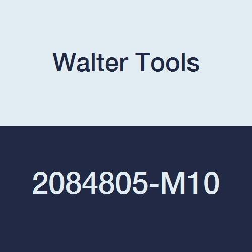 Walter Tools 2084805-M10 AMB HSS Automatic Nut Tap TIN Finish 8 mm Shank Diameter 15 mm Thread Length 36 mm Cutting Length 271 mm Overall Length M10 Cutting Diameter